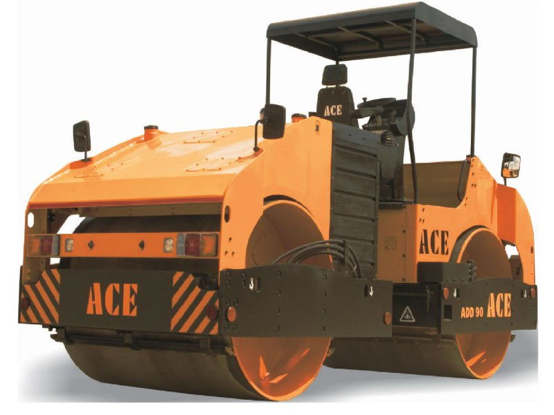 ace vibratory road roller